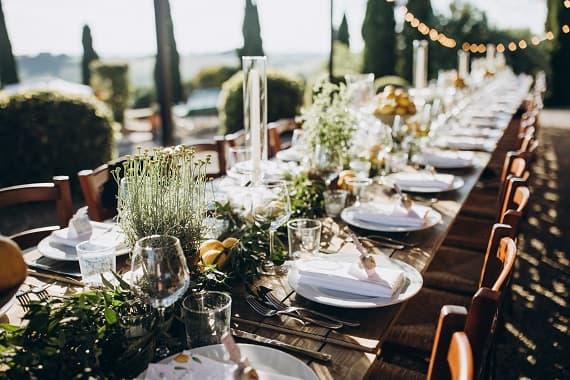idées de repas mariage